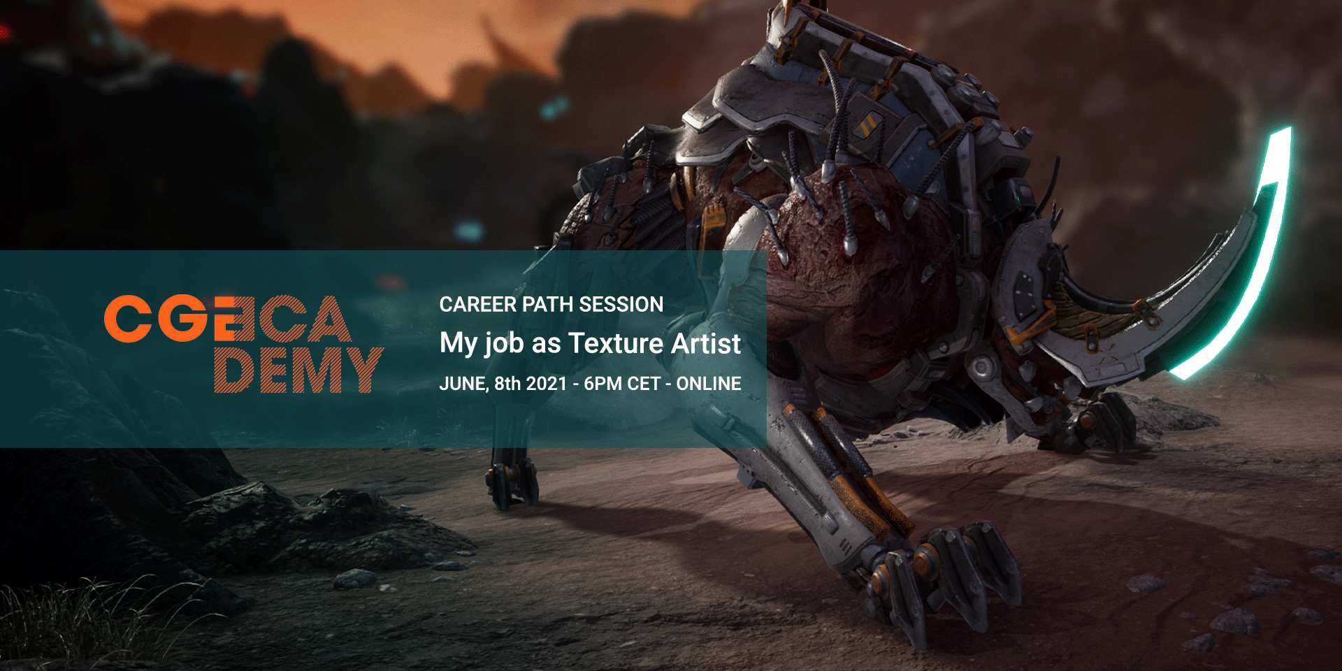 CGAcademy sessions - My Job as Texture Artist