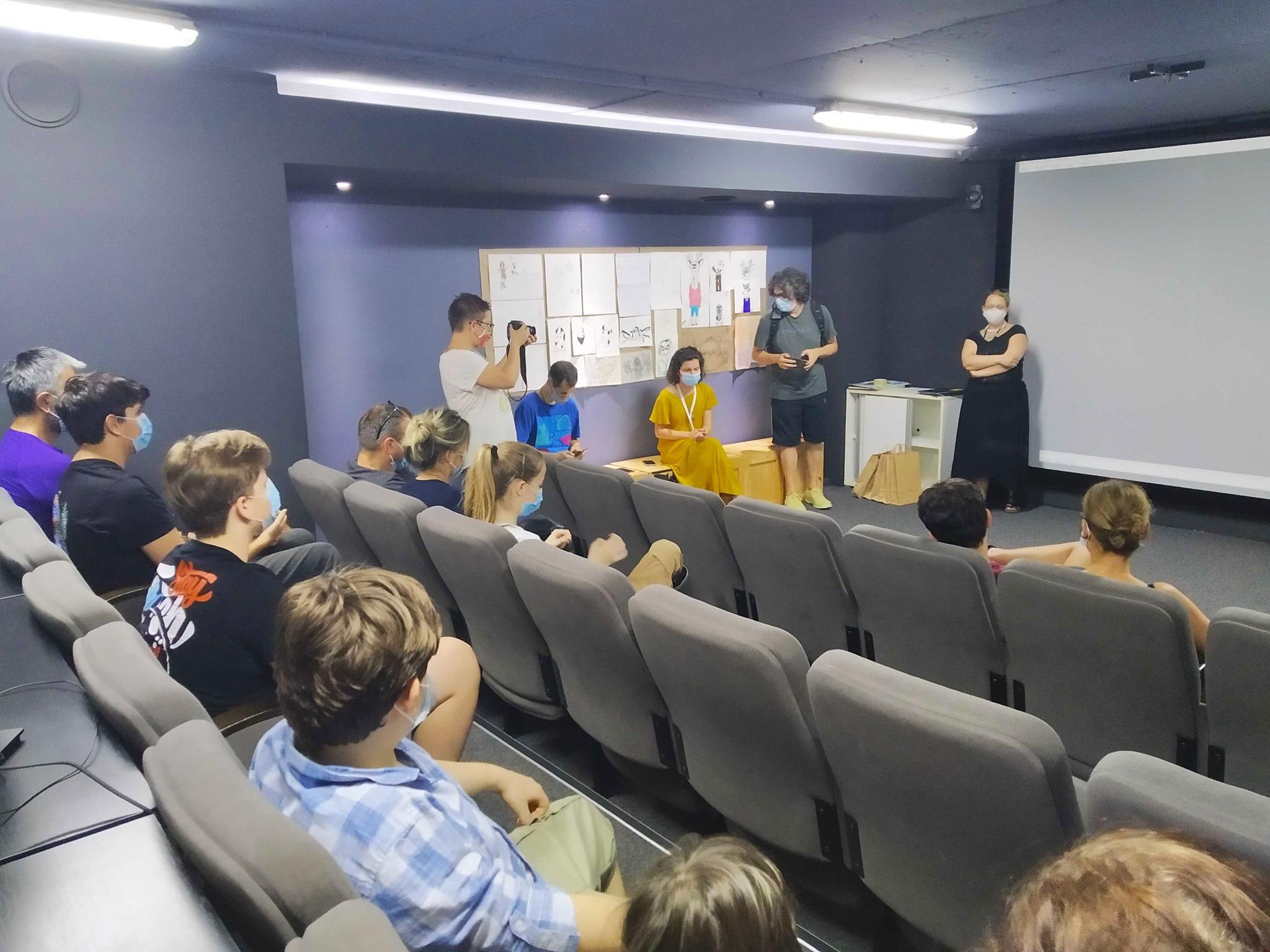 Crater letnji teen kamp multimedije za decu 2020